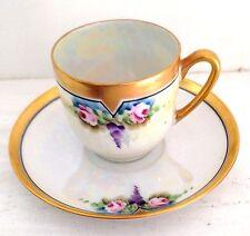 Princess China Belwood Jorgensen Bavaria Demitasse Cup & Saucer - 1920's Tea
