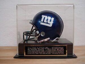 Walter Payton Football Mini Helmet Display Case W/ A Chicago Bears Nameplate