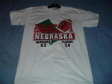 Nebraska Cornhuskers National Champions 1994-95 T-Shirt Adult Medium White NWT