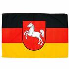Fahne Niedersachsen m. Wappen 90x150 cm niedersächsische Hiss Flagge Bundesland