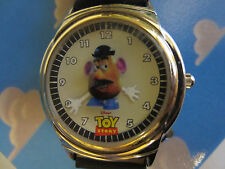"""Disney 1996 Fossil """"Mr Potato Head"""" Toy Story Limited Edition watch lunchbox"""