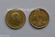 MONEDA DE 1 peseta 1966  *71 FRANCO SC / SPAIN km#796 UNC