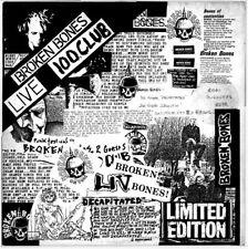 BROKEN BONES 'Live 100 Club' 1984 punk new rare sealed CD official bootleg