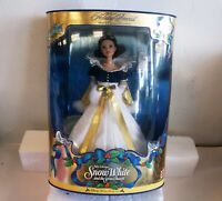 Vintage 1998 Snow White Holiday Princess Barbie Disney's Holiday Collection