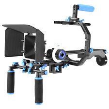 Neewer Aluminum Film Movie Kit System Rig C-shaped Bracket for Canon Nikon Sony