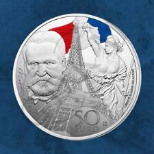 Frankreich - Eisen- und Glaszeit - Europastern - 50 Euro 2017 Silber PP 5 Unzen