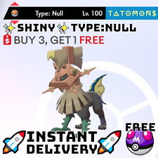 ✨Shiny Typenull✨ Legendary Pokemon Sword and Shield 6 IV 🚀Fast Delivery🚀