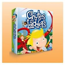 Hasbro Family Favourites Chutes and Ladders Mini Board Game 100% Brand New