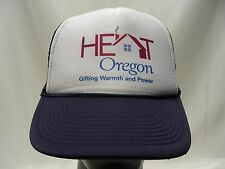 HEAT OREGON - TRUCKER STYLE ADJUSTABLE SNAPBACK BALL CAP HAT!