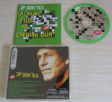 CD ALBUM LA JEUNE FILLE AU CHEWING GUM JP DEN TEX 10 TITRES 2004