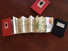 Planting the Lincoln Highway Priscilla Massmann 2 Miniature Books & Slipcase REM