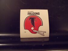1977 NFL Football Helmet Sticker Decal Atlanta Falcons Sunbeam Bread