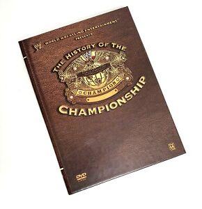 WWE: History of the World Heavyweight Championship 3 Disc DVD Set 2009!