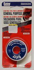 Oatey 53176 95/5 Acid Core Wire Solder, Oatey General Purpose Solder 1/4 lbs