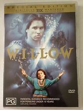 WILLOW R4 DVD FREE POST VAL KILMER - Hard To Find DVD