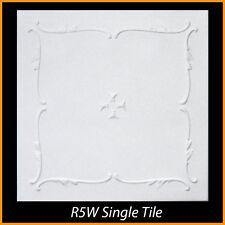 Ceiling Tiles Glue Up Styrofoam 20x20 R5 White Lot of 8