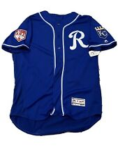 MLB Authenticated - Sam McWilliams Blue Spring Training Jersey Issued By Royals