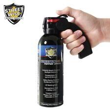 Lab-Certified Streetwise Large 16oz PISTOL GRIP Pepper Spray with UV Marking Dye