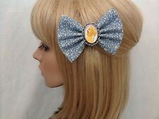 Lady and the Tramp hair bow clip rockabilly pin up disney cute blue girls sale