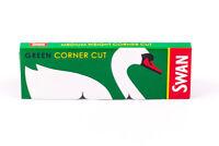 Swan Green GENUINE Standard Papers Cigarette Regular Rolling Paper - Corner Cut