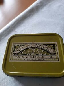 Vintage Golden Virginia 50g Hand Rolling Tobacco Tin