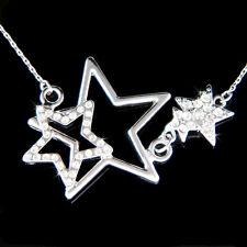 w Swarovski Crystal WISH Wishing Sparkling STAR Mother Child Family Necklace New
