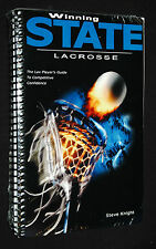 Winning State Lacrosse: The Lax Players Guide To Competitive Confidence NEW OOP