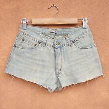Shorts donna jeans con strappi mini pantaloncini strappati Custom hot pants