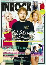 INROCK April 2019 Japan Magazine Ed Sheeran Backstreet Boys Ariana Grande