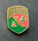 US FIRE FIGHTER CALIFORNIA FORESTRY FIRE PROTECTION LAPEL PIN BADGE 1 INCH CDF