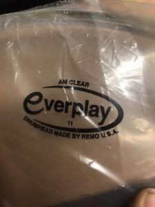 Remo Everplay Clear Ambassador Drum Heads, Like Modern Remo Ambassador