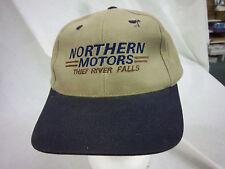 trucker hat baseball cap NORTHERN MOTORS TRF retro snapback cool cloth rare 1980