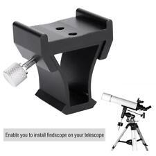 Telescope Finderscope Dovetail Slot Mount Base Plate Photography for Celestron