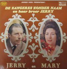 ZANGERES ZONDER NAAM EN HAAR BROER JERRY - JERRY EN MARY - LP