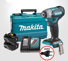 Makita DTW180 9.5mm 18V 6.0Ah 2Pack BL LXT Cordless Impact Wrench / 220V Charger