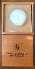 New ListingRare - 1986 Casa De Moneda Mexico 5 Ounces .999 Fine Silver Round Proof Coin