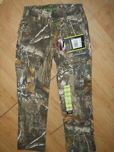 NEW REALTREE Edge Camo Cargo Hunting Pants Youth Size 8 Medium (C30)