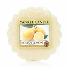 Yankee Candle Wax Melt wax Tarts Sicilian Lemon Yellow Colour NEW