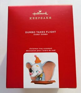 NEW 2020 Hallmark Disney Dumbo Takes Flight Christmas Tree Keepsake Ornament