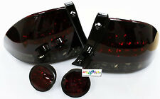 DHL-New LED Tail Lamp + Rear Trunk Led for LEXUS 1999-2005 IS200 IS300-Red/Black