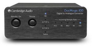 CAMBRIDGE AUDIO DacMagic 100 DAC Digital Analog Converter (Black)