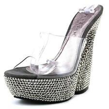Sandali e scarpe bianche Pleaser per il mare da donna