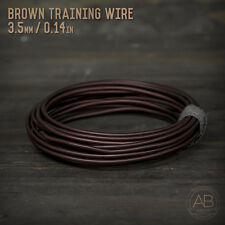 American Bonsai Brown Aluminum Training Wire - 3.0mm - 100 grams - 17ft - 100g