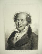 Antoine-Vincent Arnault + en Goderville Deverian Acostado c1880 'Academia