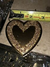 Vintage Compact Heart Shaped By Wand Art