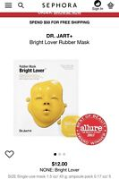Dr. Jart+ Bright Lover Rubber Mask Single-use Mask 43g /1.5 Oz.