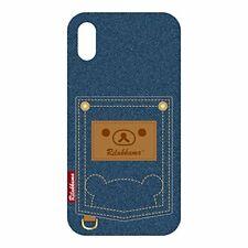 PGA iPhone X Hard Case Pocket Rilakkuma (Denim) YY02006 Japan