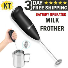 Electric Milk Frother Drink Foamer Whisk Mixer Stirrer Coffee Maker Eggbeater