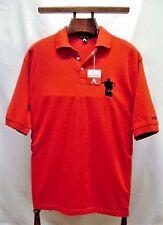 Men's Golf Shirt Polo Red Antigua Captain Morgan Size Small 100% Cotton NWT