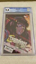 Champions Outlawed #1 CGC 9.8 2nd print 2021 Kamala Khan Miles Morales Marvel!